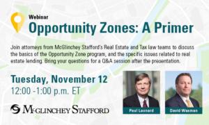 McGlinchey-Opportunity-Zone-Webinar-NYMBA